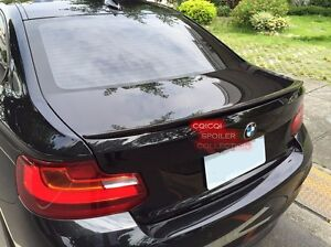 Carbon BMW 2014~2018 F22 2-series coupe performance type trunk spoiler F87 M2 ◎