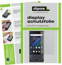 6x Blackberry Key 2 LE Screen Protector Protection Anti Glare dipos