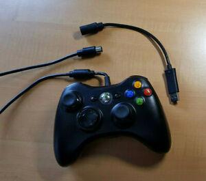 Microsoft Xbox 360 Controller kabelgebunden Schwarz