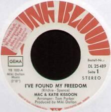 "[FLETCHER / FLETT] MAC & KATIE KISSOON~FOUND MY FREEDOM / PIDGEON~1972 GERMAN 7"""