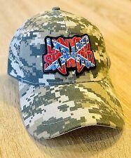 LYNYRD SKYNYRD Hat Embroidered Patch Digital Camo Leonard Band Cap Music ALABAMA