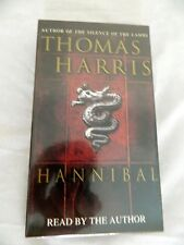 Thomas Harris/Hannibal/1999/New in Wrapper/Read by Author/4Cassettes/6 hrs