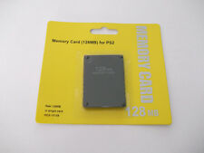 PS2 128MB MEMORY CARD PLAYSTATION 2 PS 2 128 MB !! BRAND NEW! Ship from Canada!!