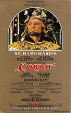 "Richard Harris ""CAMELOT"" Lerner & Loewe / Fiona Fullerton 1982 London Flyer"