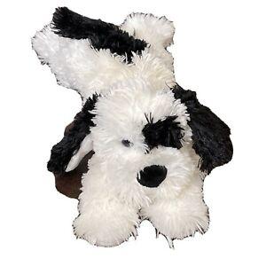 Boyds Bears & Friends Black And White Plush Puppy Dog Stuffed Animal 1988-2005