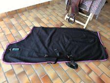 Horseware Amigo Abschwitzdecke, Gr. 140, Black, Purple, Mint