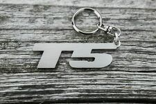 T5 keychain for Volkswagen Transporter stainless steel