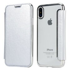 For iPhone XS MAX XR 8 plus Slim book Leather +TPU wallet Flip Cover skin Case