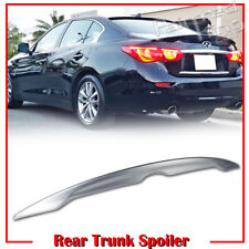 Painted Color #K23 For INFINITI V37 Q50 4DR OE Rear Trunk Spoiler Wing 14-19