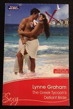 The Greek Tycoon's Defiant Bride ~ LYNNE GRAHAM ~ Mills & Boon