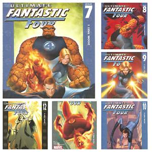 °ULTIMATE FANTASTIC FOUR #7 bis 12 DOOM KOMPLETTE MINISERIE° US Marvel 2004
