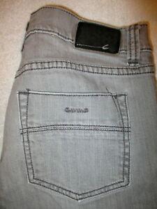 RSQ London Skinny Stretch Mens Gray Wash Denim Jeans Size 31 x 29 Mint