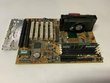 ABIT MOTHERBOARD AB-BX6 ISA SLOT 5-PCI W/ P3 450MHZ + RAM & I/O PLATE