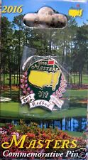 1 - 2016 Augusta MASTERS COMMEMORATIVE PIN  -NEW