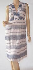 Cream elegantes Sommerkleid Mod. Lina Dress Chiffon rosa Gr.36-neu