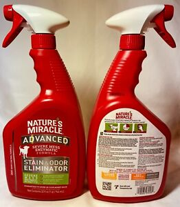 Natures Miracle Advanced Stain & Odor Remover Trigger Spray 32 oz Free Shipping