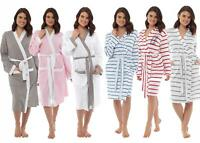Ladies Undercover Summer Lightweight Dressing Gown Cotton Jersey or Waffle Robe