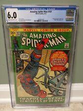 "AMAZING SPIDER-MAN #107 CGC 6.0 ""MARVEL COMICS"" 1972 SPIDER SLAYER APPEARANCE"