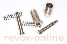 Dreizack-Arretierung lang (21mm) Klemmhülse+Feder+Schraube Revox A700 2 Stück