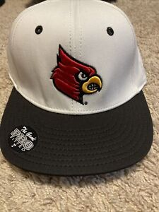 New Louisville Cardinals Fitted Hat Cap The Game 7 Baseball Basketball