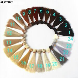 15cm Fashion BJD Wigs Doll Hair For 1/6 Doll Colorful Wig For Monster High Doll