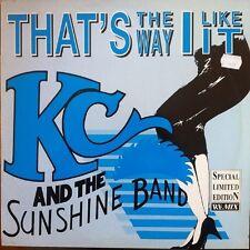 "K.C. & Sunshine Band That's The Way I Like It - New York Style Mix German 12"""