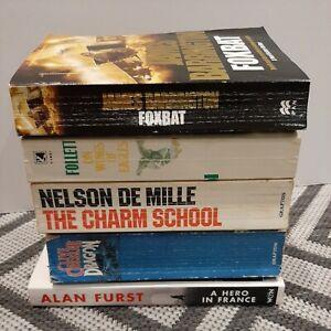 Thriller/Spy/Drama/Combat/War 5 Fiction Books Bundle