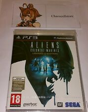 Aliens Colonial Marines Edición Limitada PS3 Nuevo Sellado PAL Reino Unido Sony PlayStation 3
