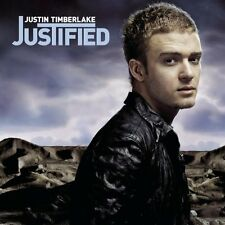 Justin Timberlake - Justified - 2002 ZOMBA - 13 TRACK MUSIC CD - LIKE NEW - H087