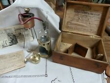 ALAMBIC DUJARDIN SALLERON 1922 Complet Boite Cave œnologie Vin LAMBERT Macon