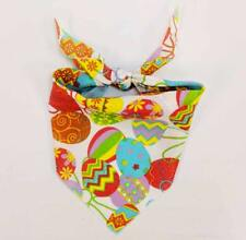 """Top Performance Tossed Eggs Bandana Dog Holiday Easter Egg Scarf Neck 1 Size 21"""""""