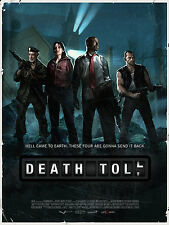 LEFT 4 DEAD LAMINATED MINI A4 POSTER DEATH TOLL