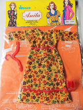 "Vintage - ANITA Vestido - BARBIE CLONE Muñeca traje - Wenco para 11,5""29cm"