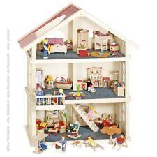 Puppenhaus 3 Etagen, 65 x 35 x 87,5 cm