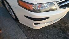 Set of 4 Carbon Fiber Car Front Rear Bumper Protector Corner Guard Scratch Door