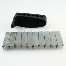 91/30 m44 Mosin Nagant Rubber Recoil Butt Pad with 10 Mosin Nagant Stripper clip