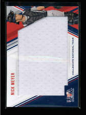 NICK MEYER 2018 PANINI USA BASEBALL STARS & STRIPES USED JERSEY #173/299 AH5072