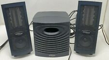 MONSOON MULTI-MEDIA MH-500 Speakers Subwoofer And Power Cord -  Tested -