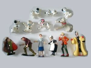 DISNEY 101 DALMATIANS FIGURINES SET NESTLE - FIGURES COLLECTIBLES MINIATURES