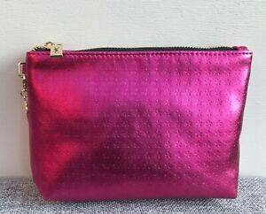 YSL Beauty Pink Makeup Cosmetics Bag Trousse / Pouch, Brand NEW!