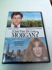 "DVD ""¿QUE FUE DE LOS MORGAN?"" HUGH GRANT SARAH JESSICA PARKER MARC LAWRENCE"