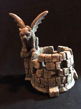 Vandor Gargoyle Castle Votive Holder 5.5