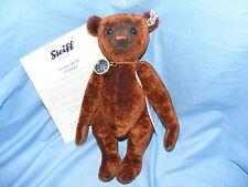 Steiff teddy bear nando avec boussole ean 035166 édition limitée
