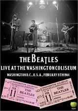 THE BEATLES LIVE AT THE WASHINGTON COLISEUM 1964 DVD john lennon paul mccartney