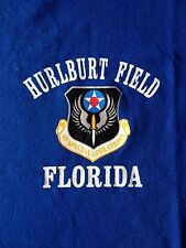 VINTAGE 90's HURLBURT FIELD FLORIDA-SOFFE MADE IN USA GRAPHIC-T-SHIRT-LARGE-RARE