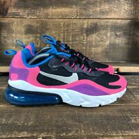 Nike Womens Air Max 270 React BQ0101-001 Pink Lace Up Shoes Size 5.5