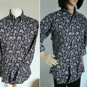 Pop Boutique 1960s vintage style Paisley Shirt BNWT