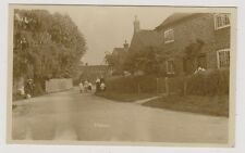 More details for nottinghamshire postcard - elston - early village scene - rp (a4)