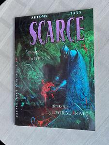 SCARCE N°37 DOSSIER VAMPIRE GEORGES PRATT TOM PALMER 1993 EN TRÈS BON ÉTAT