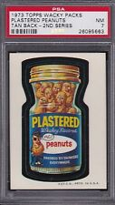 1973 Topps Wacky Packages PLASTERED PEANUTS (TB) PSA 7 NM Series 2 Packs